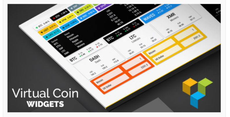 Virtual Coin Widgets WPBakery - Cryptocurrency WordPress Plugins