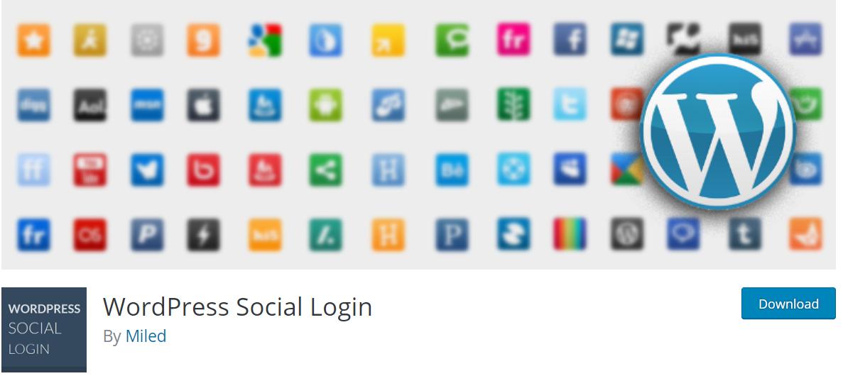 WordPress Social Login — Best BuddyPress Plugins