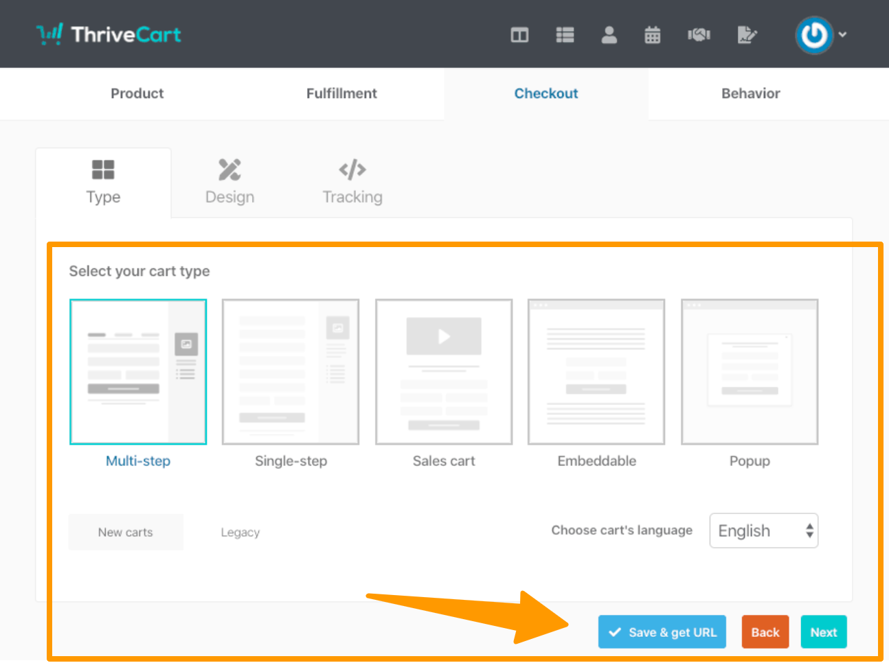 Add product type in ThriveCart