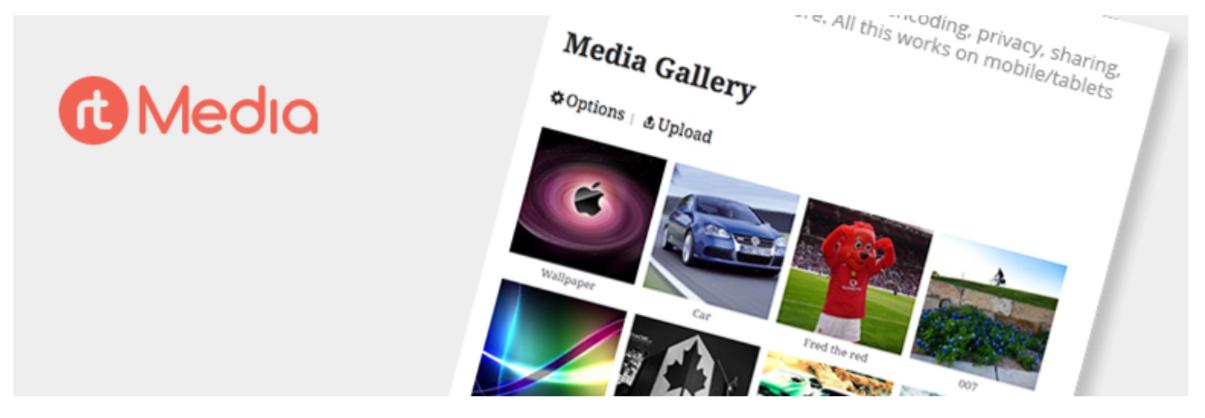 rtMedia- Best BuddyPress Plugins