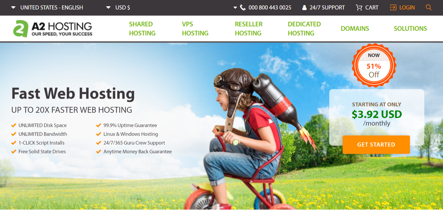 A2 Hosting Faster Hosting For Your Website- A2 Hosting