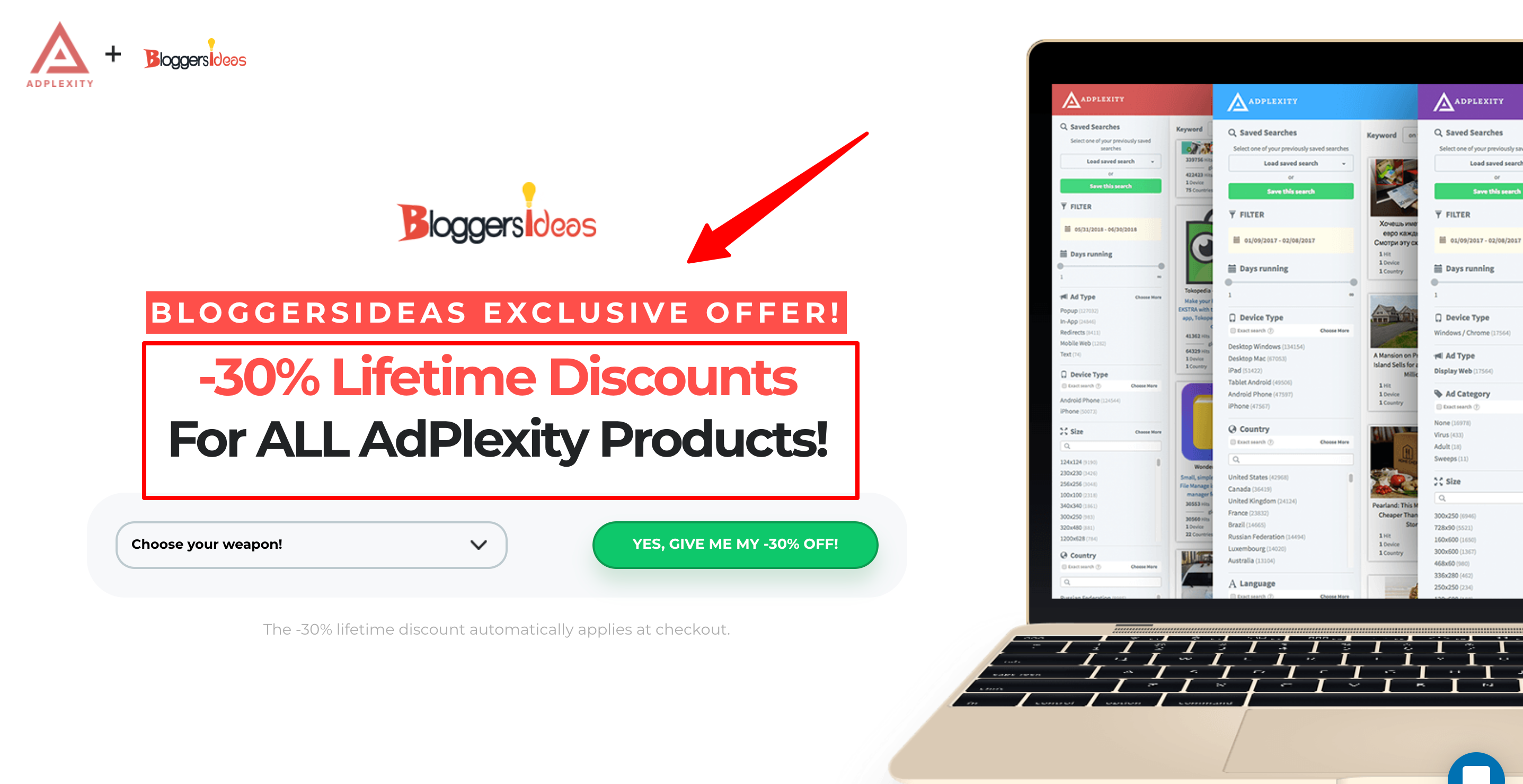 AdPlexity Coupon- Get Discount On AdPlexity Products