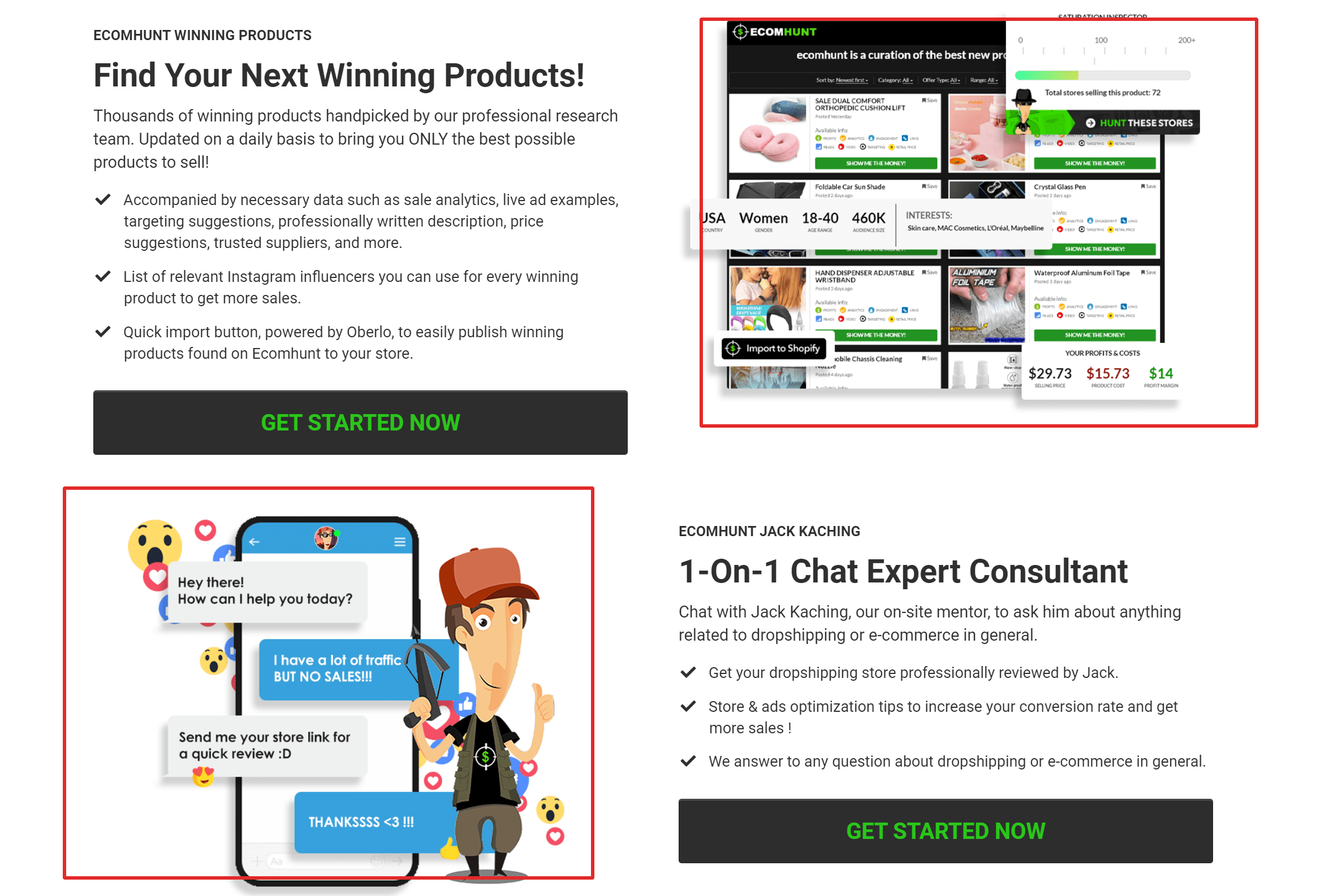Ecomhunt pro review