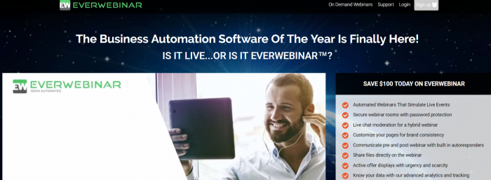 EverWebinar Review- Best Automation Tool