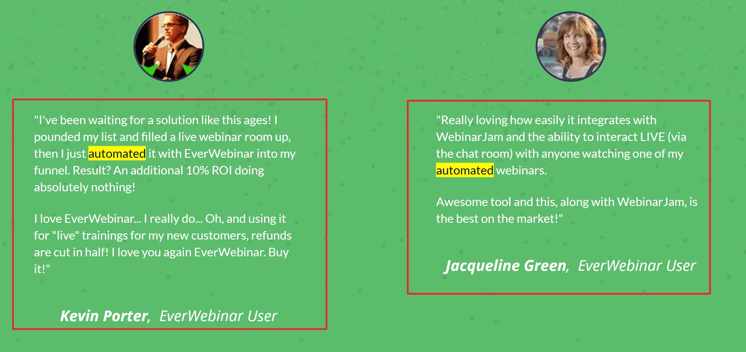 Everwebinar user reviews