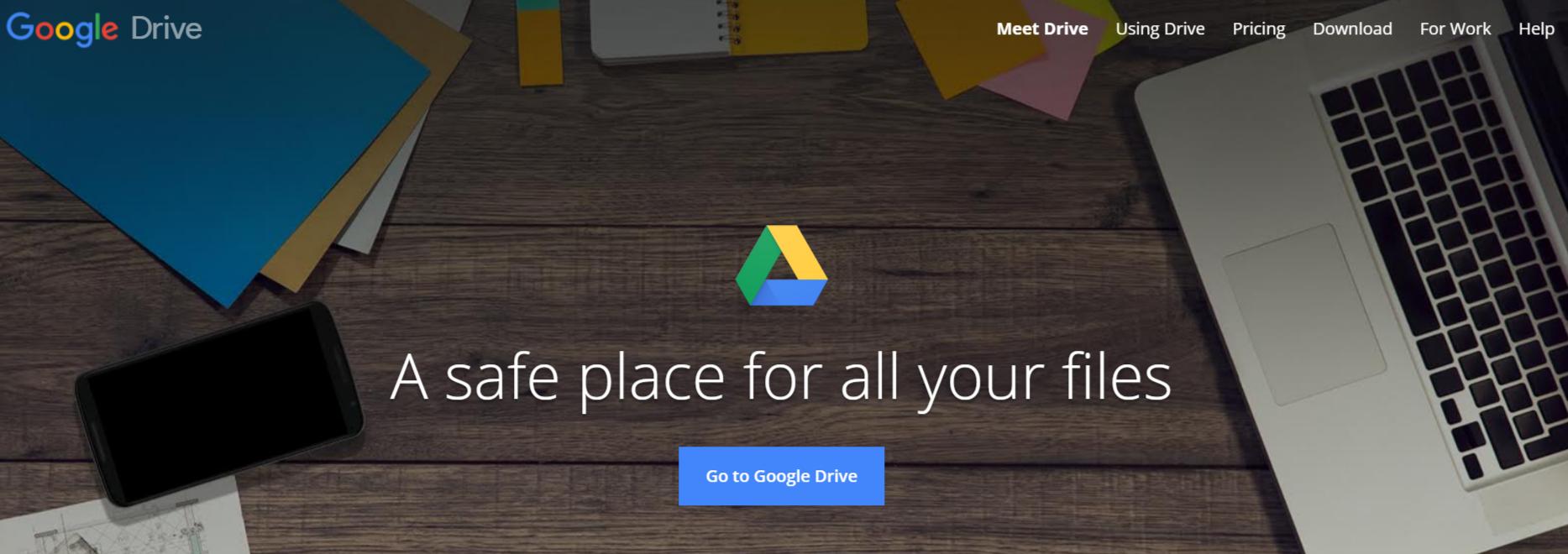 Google Drive Cloud Storage - Online Storage For Photos & Videos