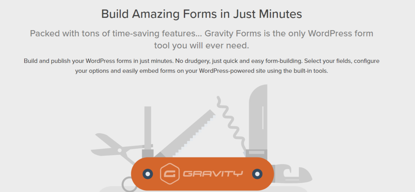 Gravity Forms Review- WordPress Forms Plugin Form Builder