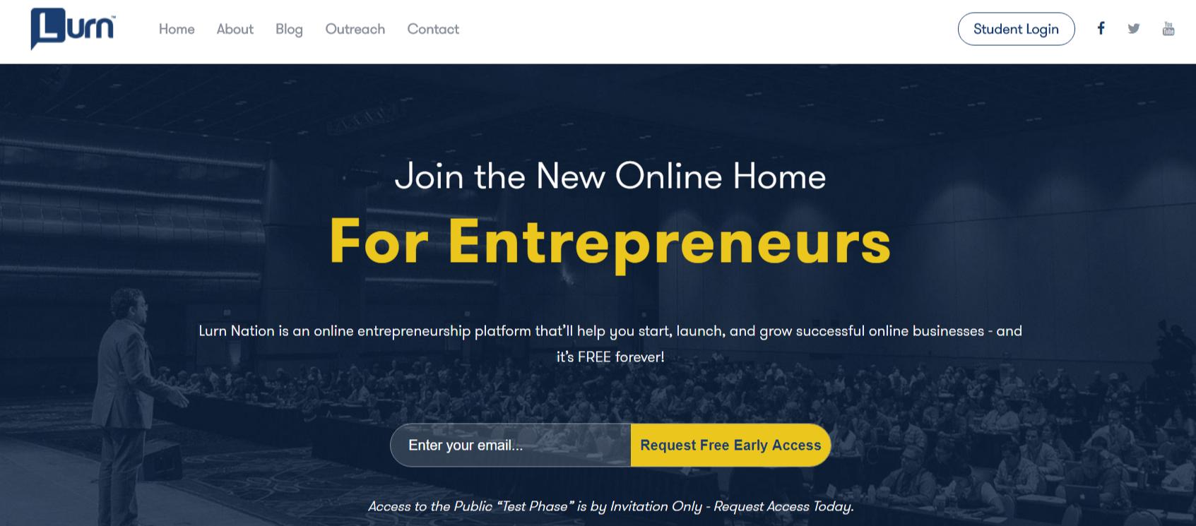 Lurn Review- Learning Home for Entrepreneurs
