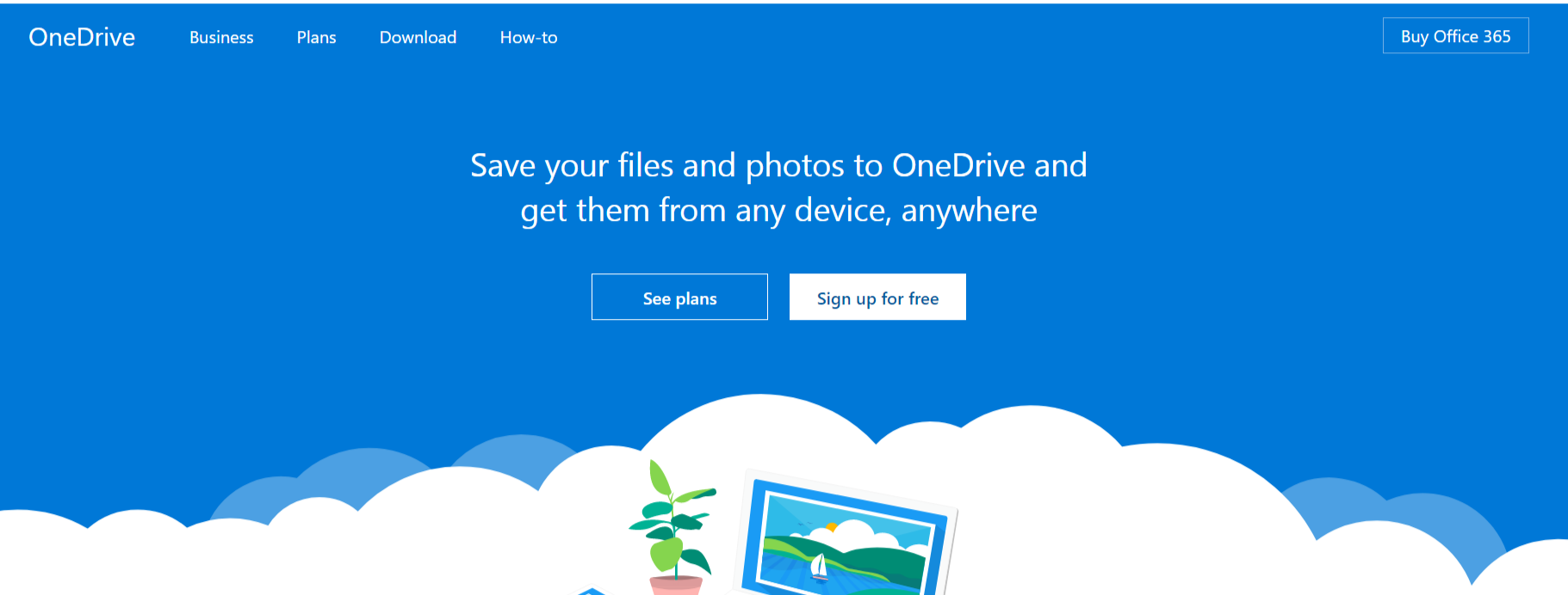 Microsoft OneDrive- Online Storage For Photos & Videos