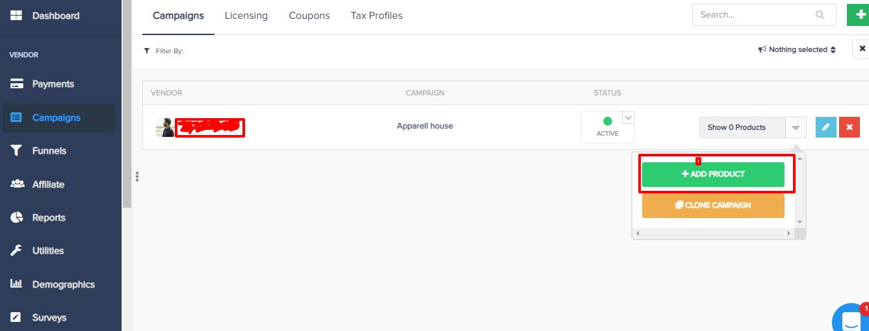 PayKickstart add a product