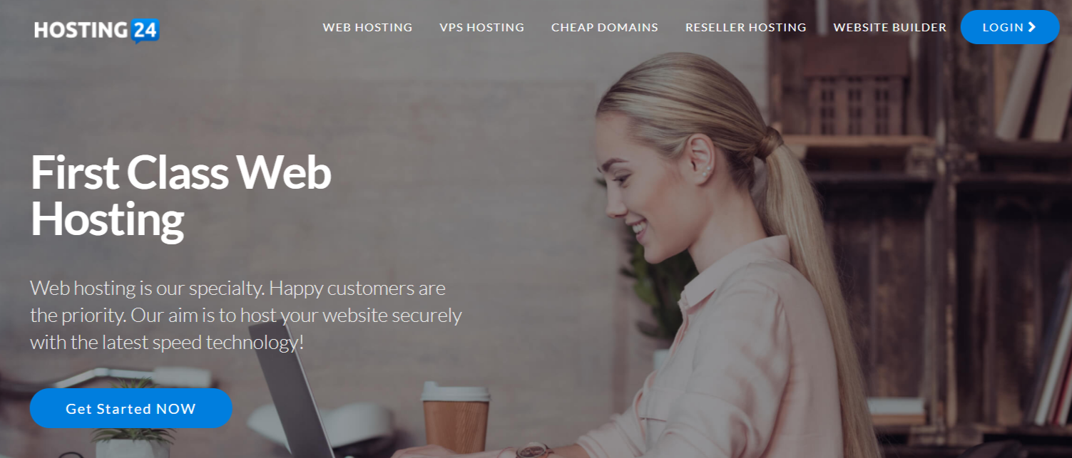 Premium Web Hosting - Hosting24 Review