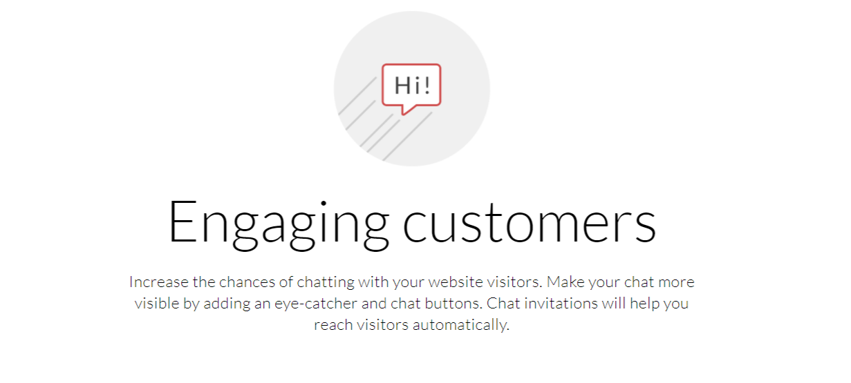 Targeting and engaging customers- LiveChat Review