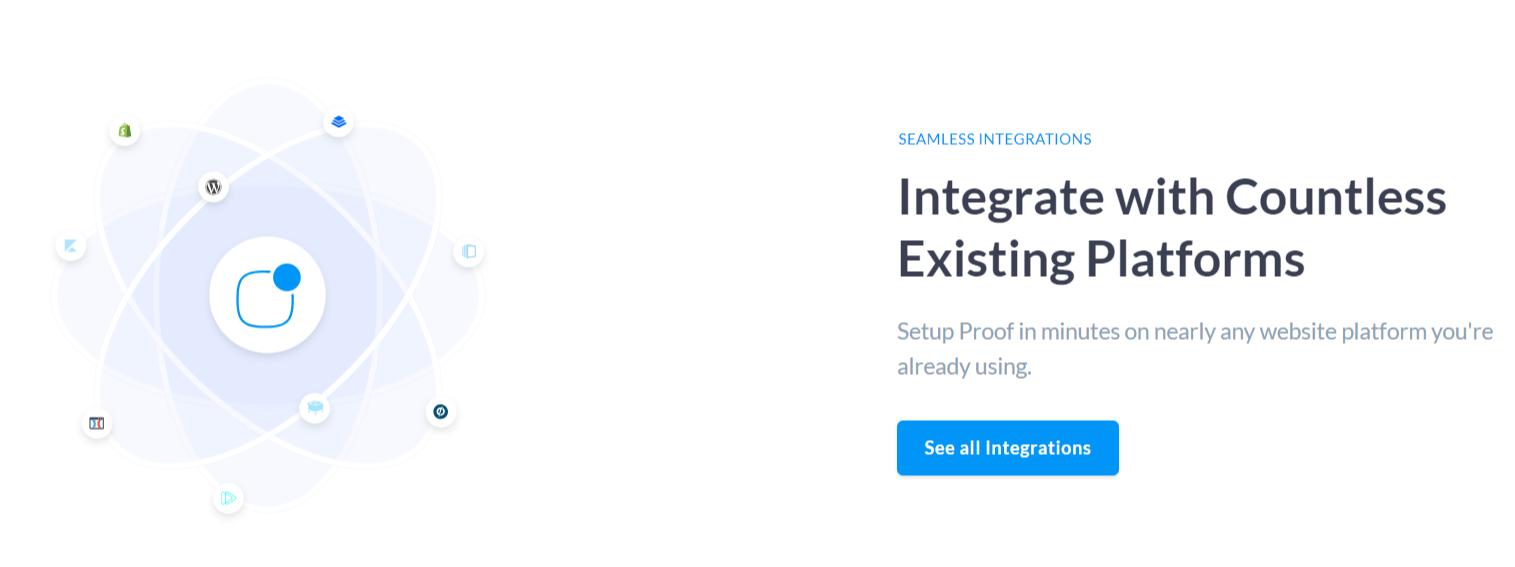 UseProof Review- Integrations