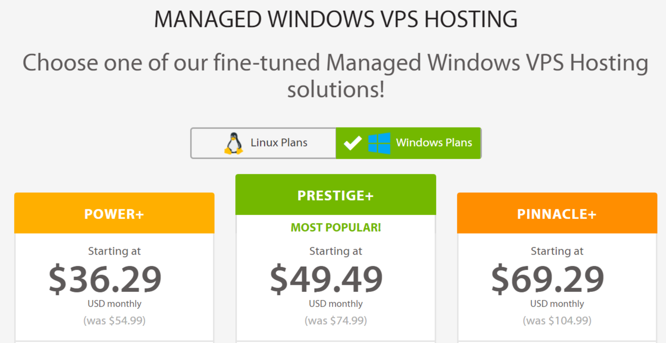 Windows VPS Hosting- A2 Hosting