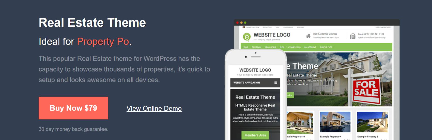 WordPress Real Estate Theme - PremiumPress ReviewWordPress Real Estate Theme - PremiumPress Review
