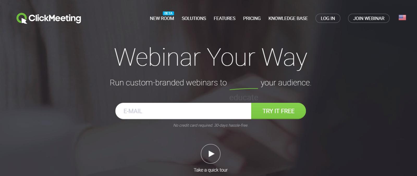ClickMeeting Review- The Best Webinar Software