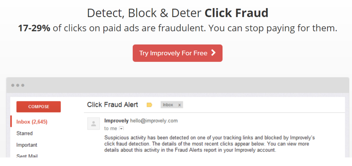 Improvely Review With Coupon Codes- Click Fraud Detection