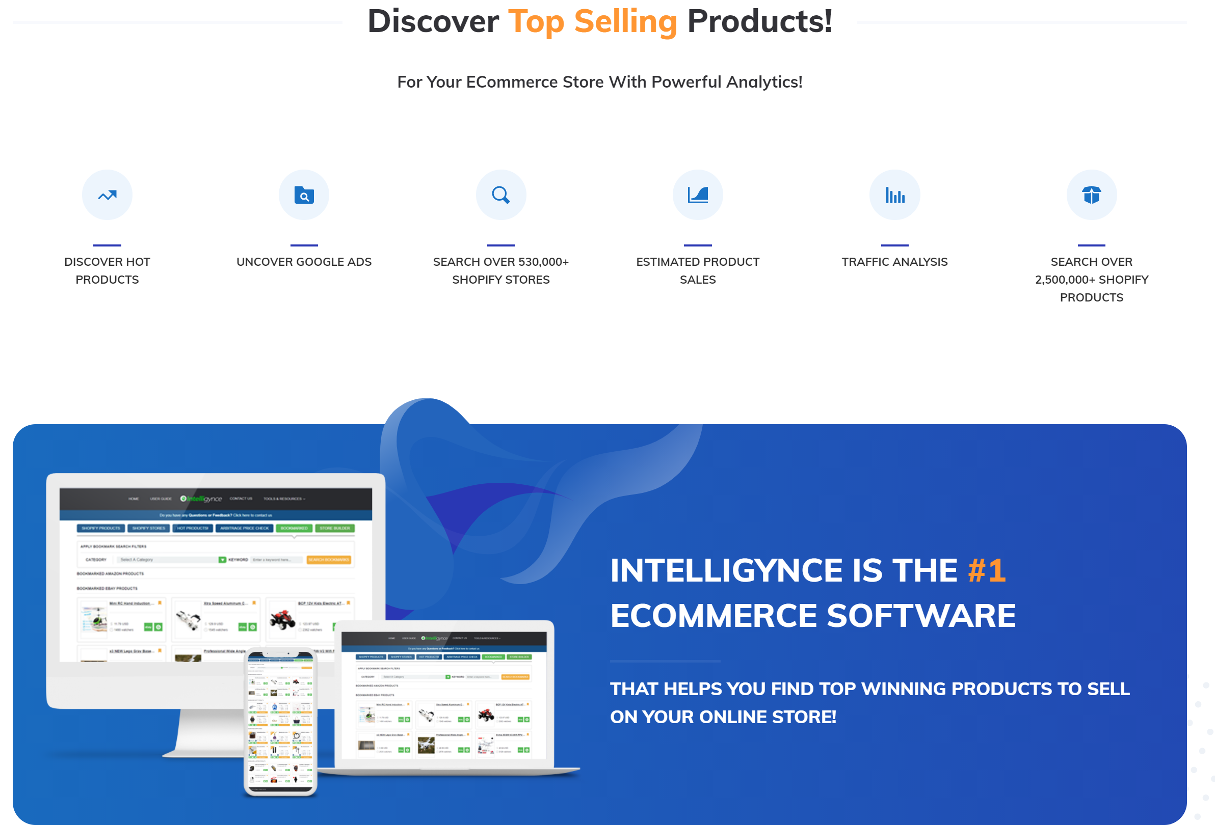Intelligynce best ecommerce tool