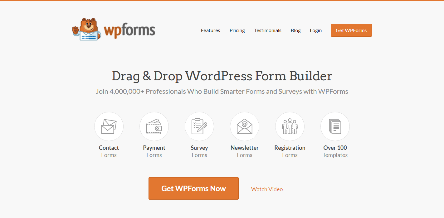 Jetpack Alternative - WPForms
