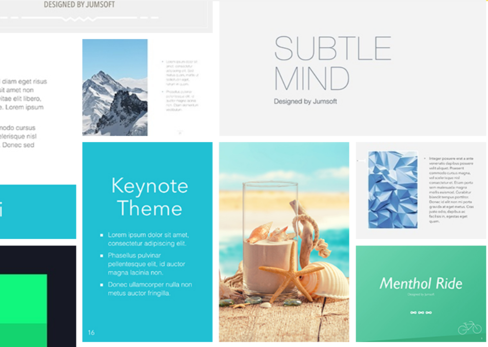 Jumsoft Keynote Review- Themes For Keynotes