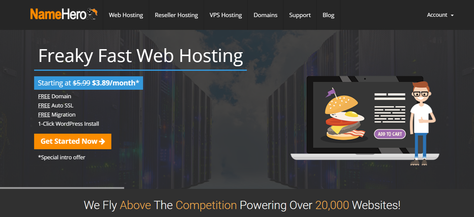 NameHero Coupon Codes- Best WordPress Hosting And Reseller Hosting
