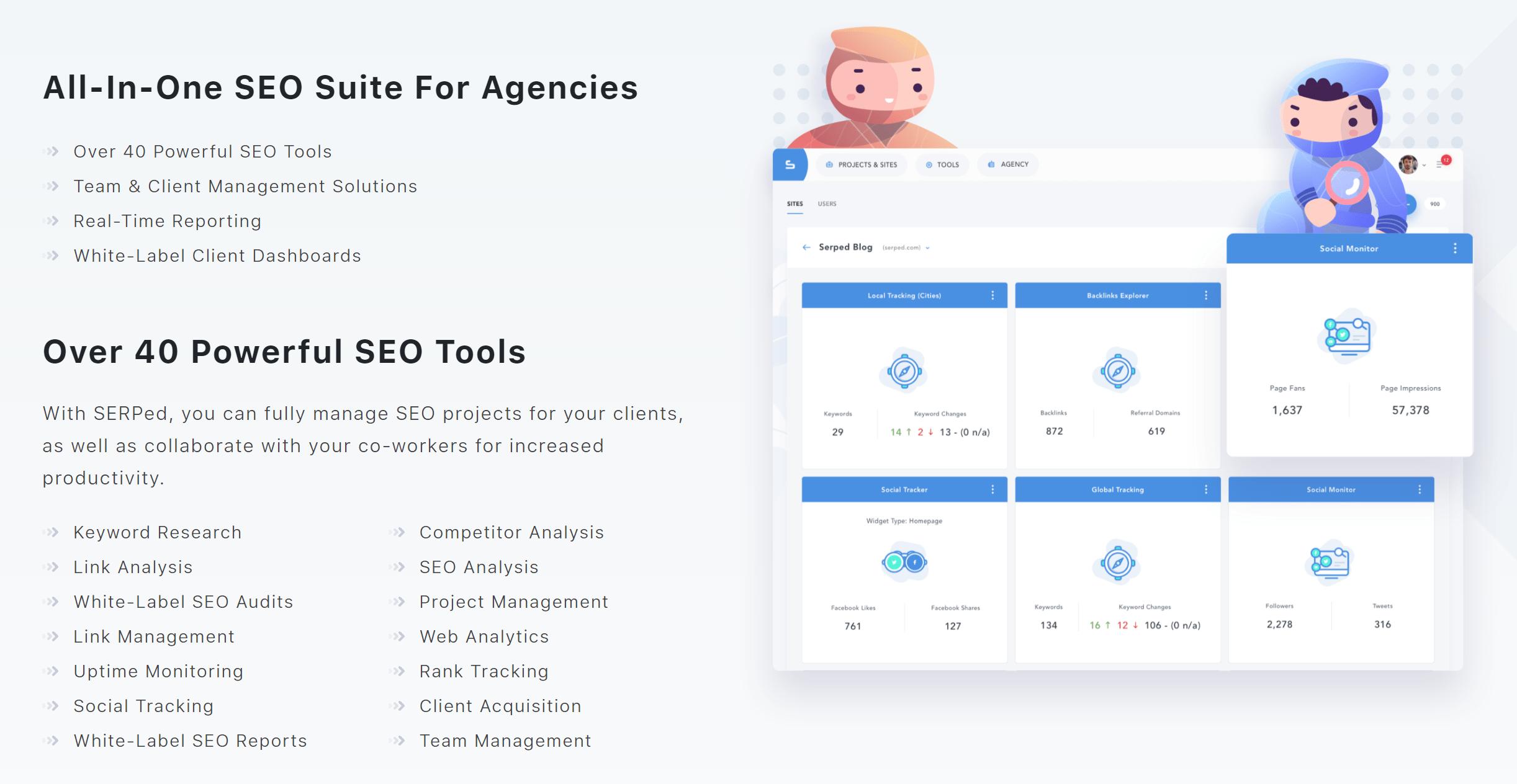 Seo suite for agencies