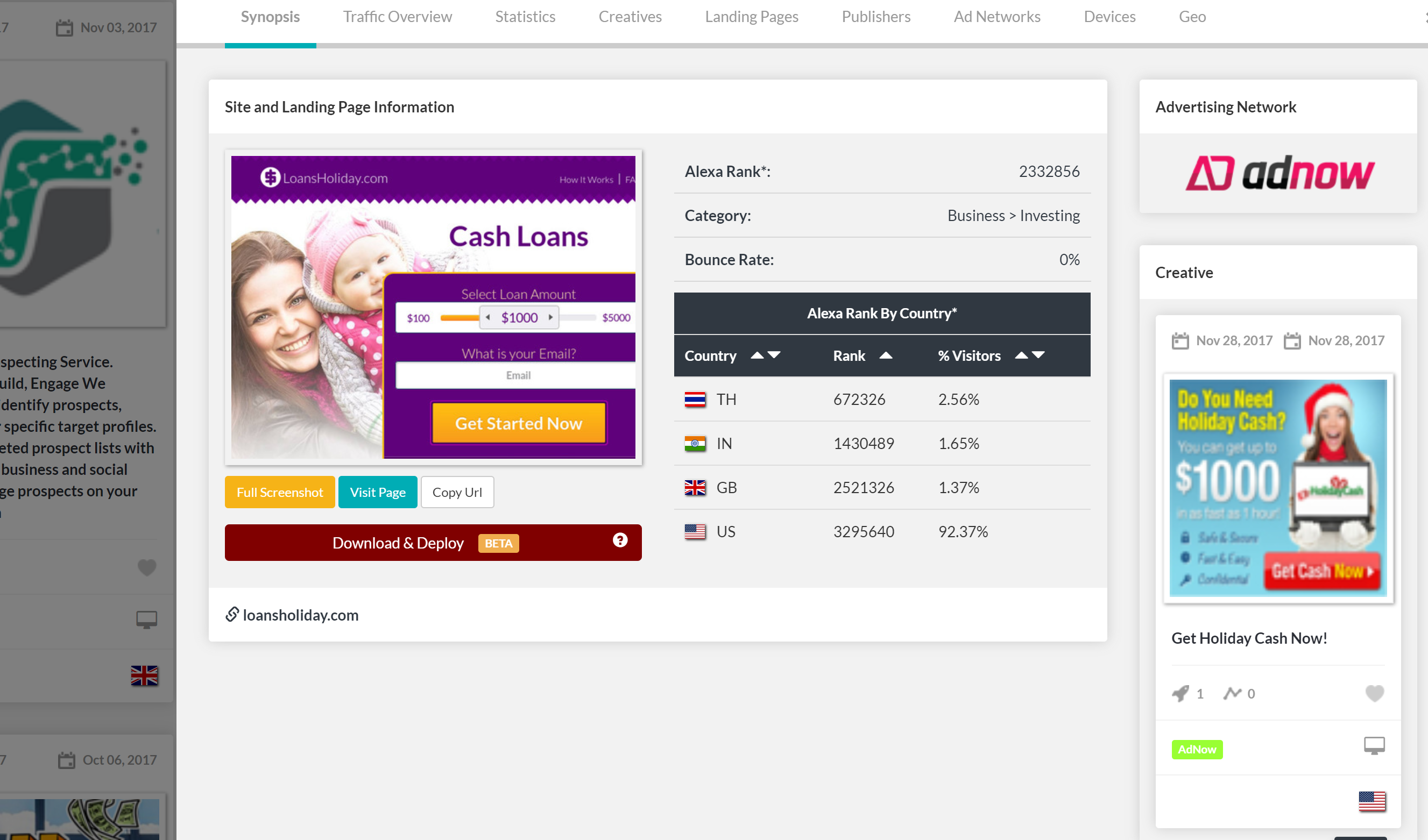 anstrex review dashboard screenshot features