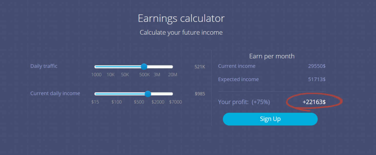 AdSpyglass Review — Earnings Calculators