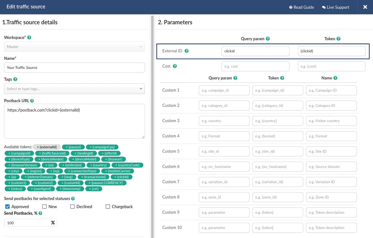 Bemob activity tracking