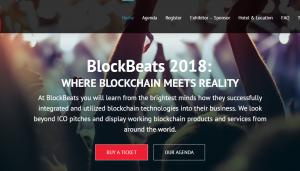 BlockBeats 2018 Blockchain Conference