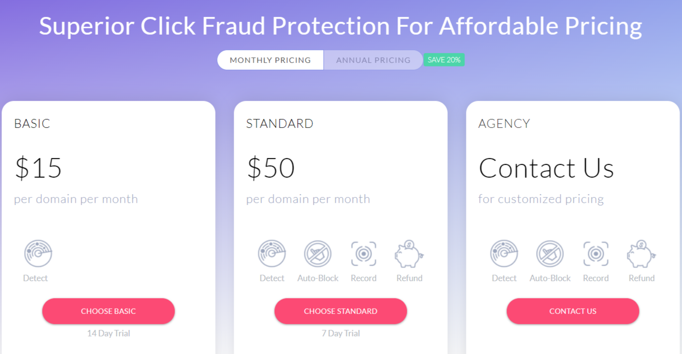 Clickcease google ads bot protection company