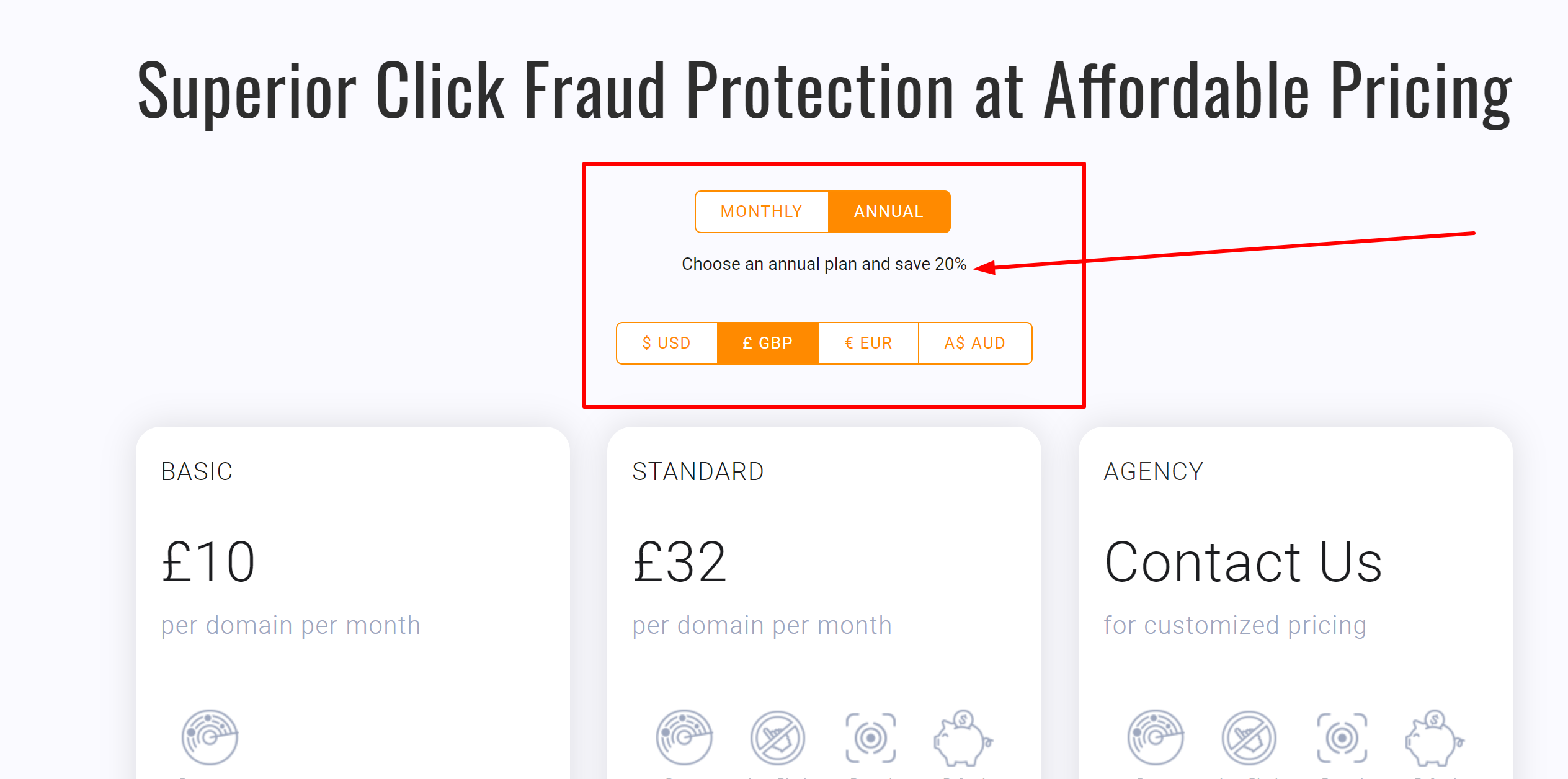 Clickcease special discount