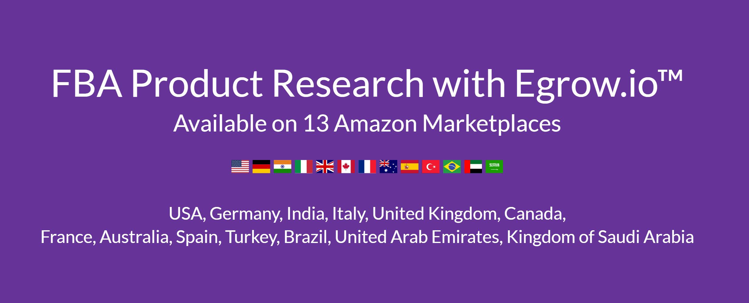 Egrow UAE amazon product research tool