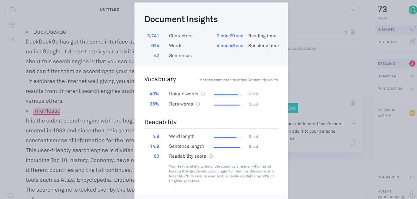 Grammarly review insights
