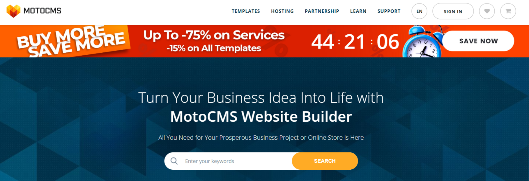 MotoCMS Review With Discount Coupon- Quick Website Builder