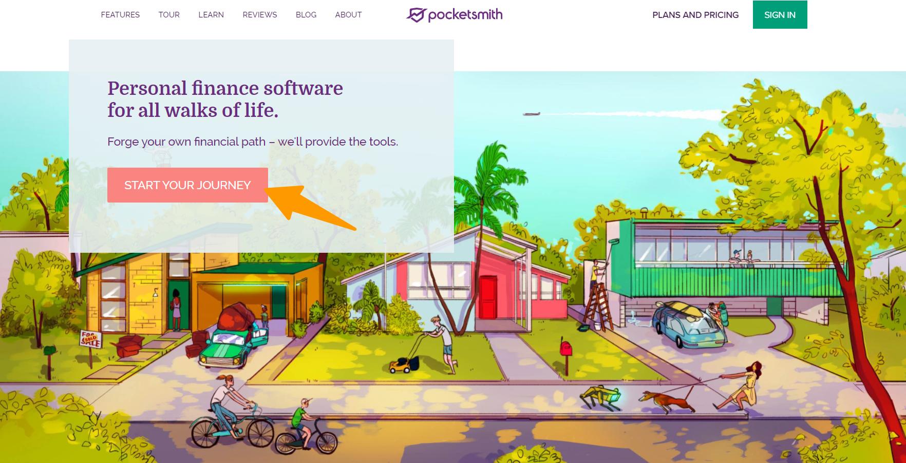 PocketSmith- Overview