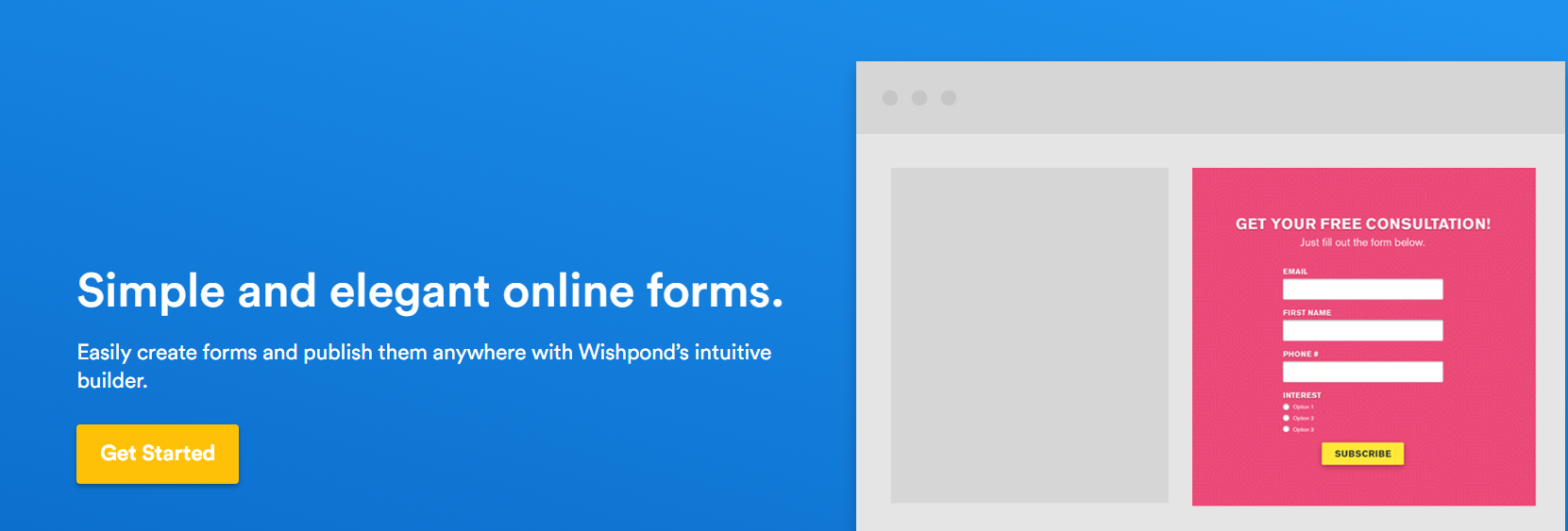 Wishpond - Easy Online Form Builder