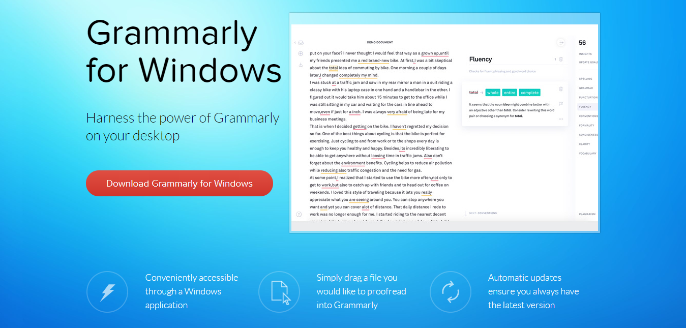 review of Grammarly for windowss