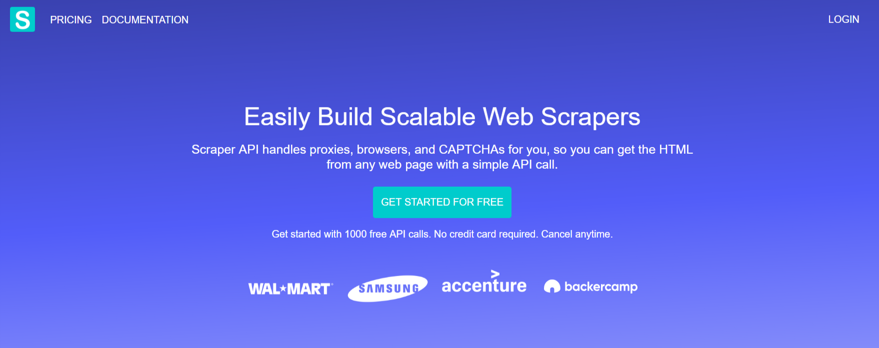 Scraper API- Backconnect Proxies
