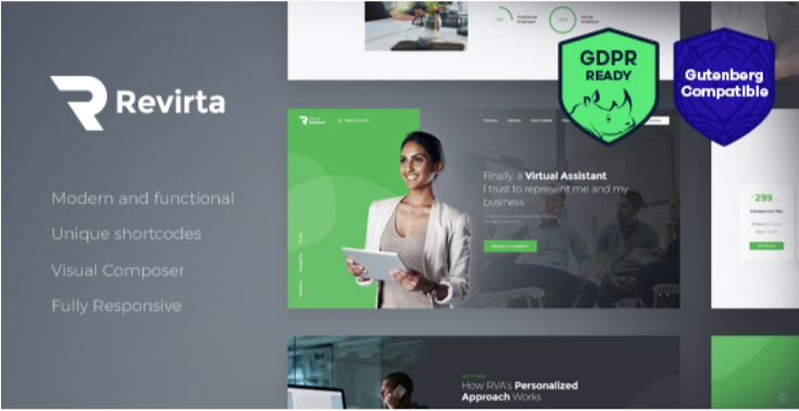 Revirta- Best Job WordPress Themes