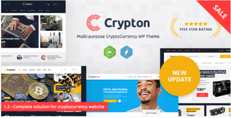Crypton- Best Job WordPress Themes