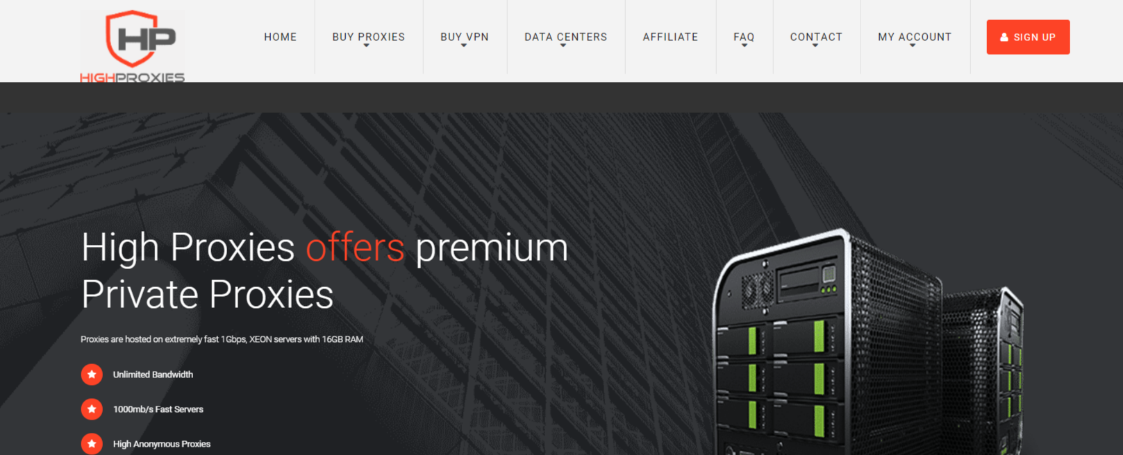 Dedicated Proxy Servers- HighProxies