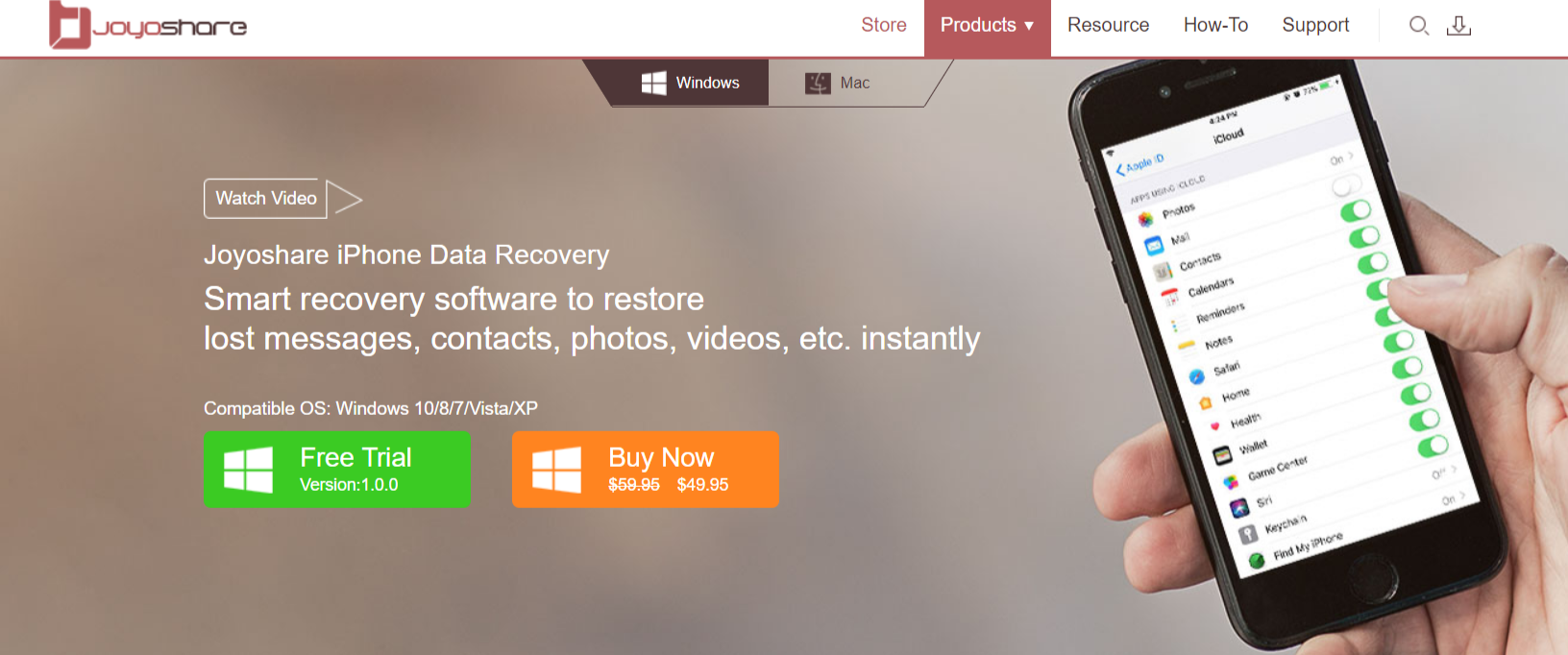 Joyoshare Review- The Best Recovery Platform