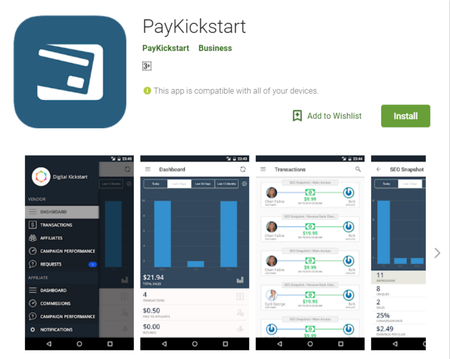 PayKickstart Coupon Codes- The App
