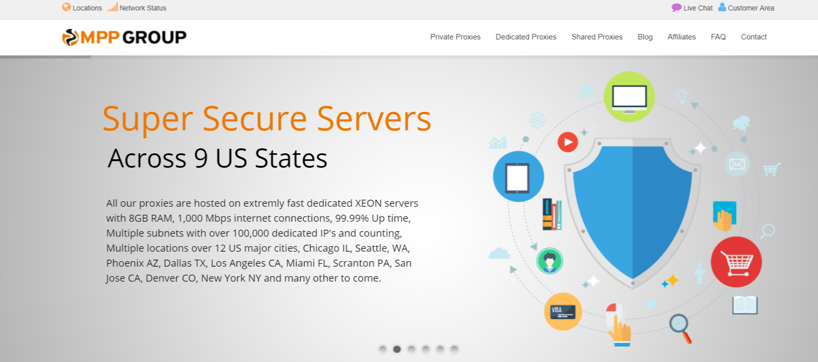 Setup Private Proxy Servers Easily- MyPrivateProxy