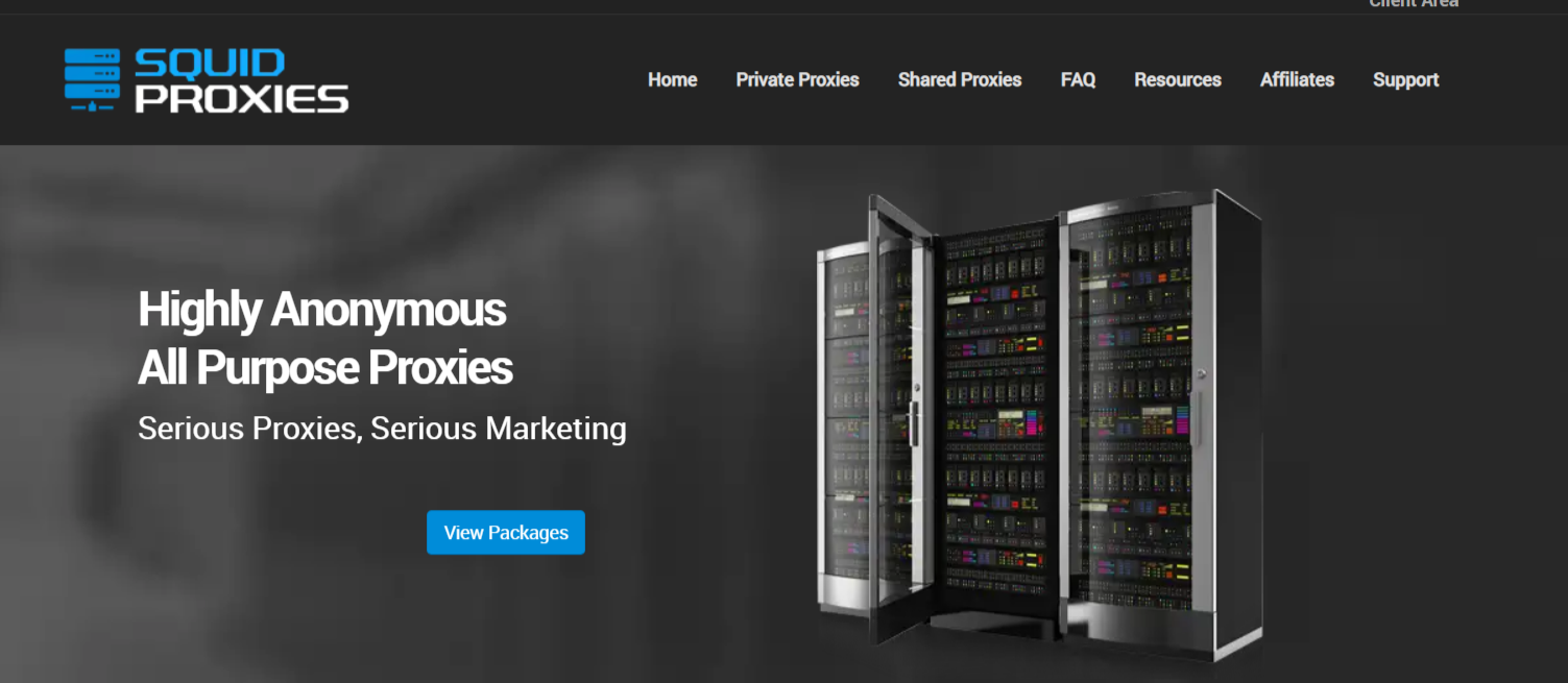 SquidProxies- Dedicated Proxy Servers