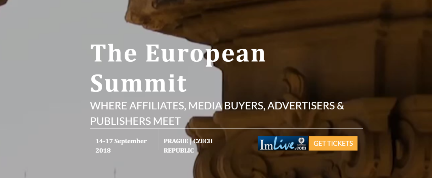 The European Summit- Affiliate Buyer And Media Meets
