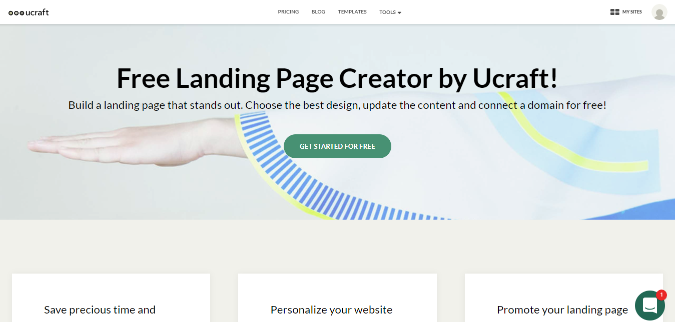 Best Home Based Business Ideas- Landing Page Maker