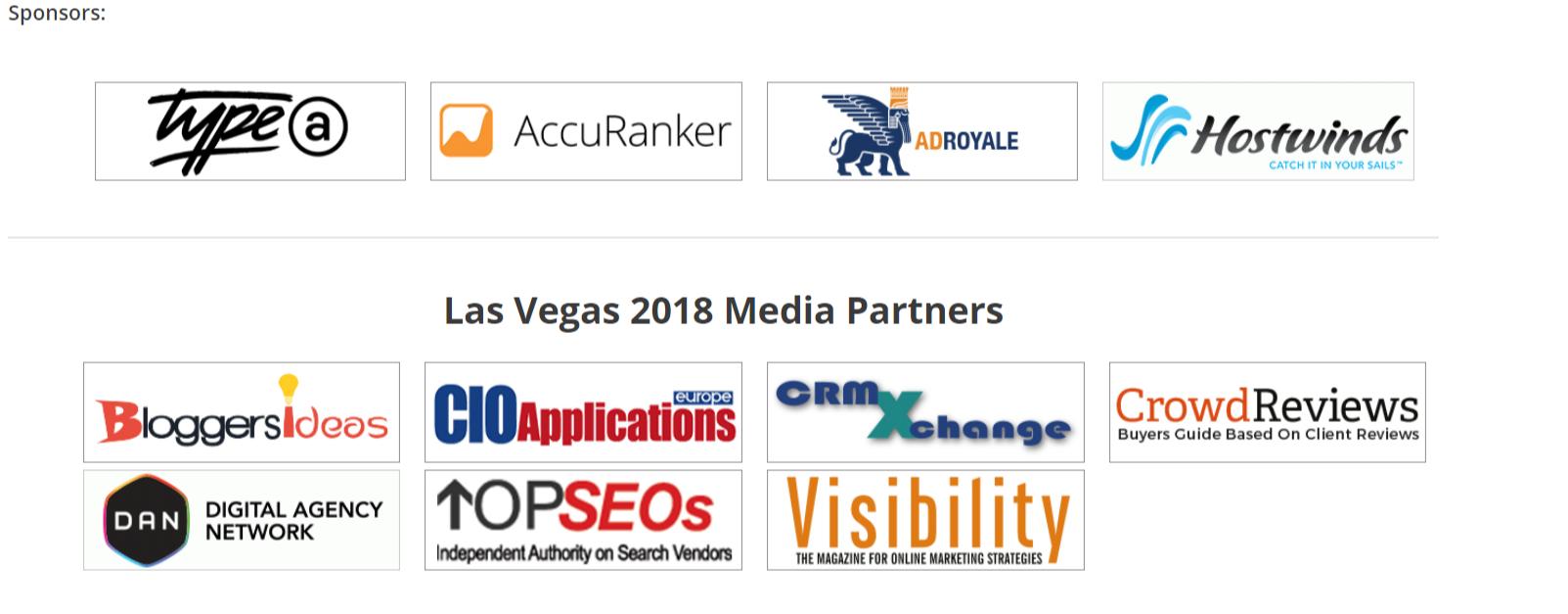 UnGagged Las Vegas Conference- Sponsors
