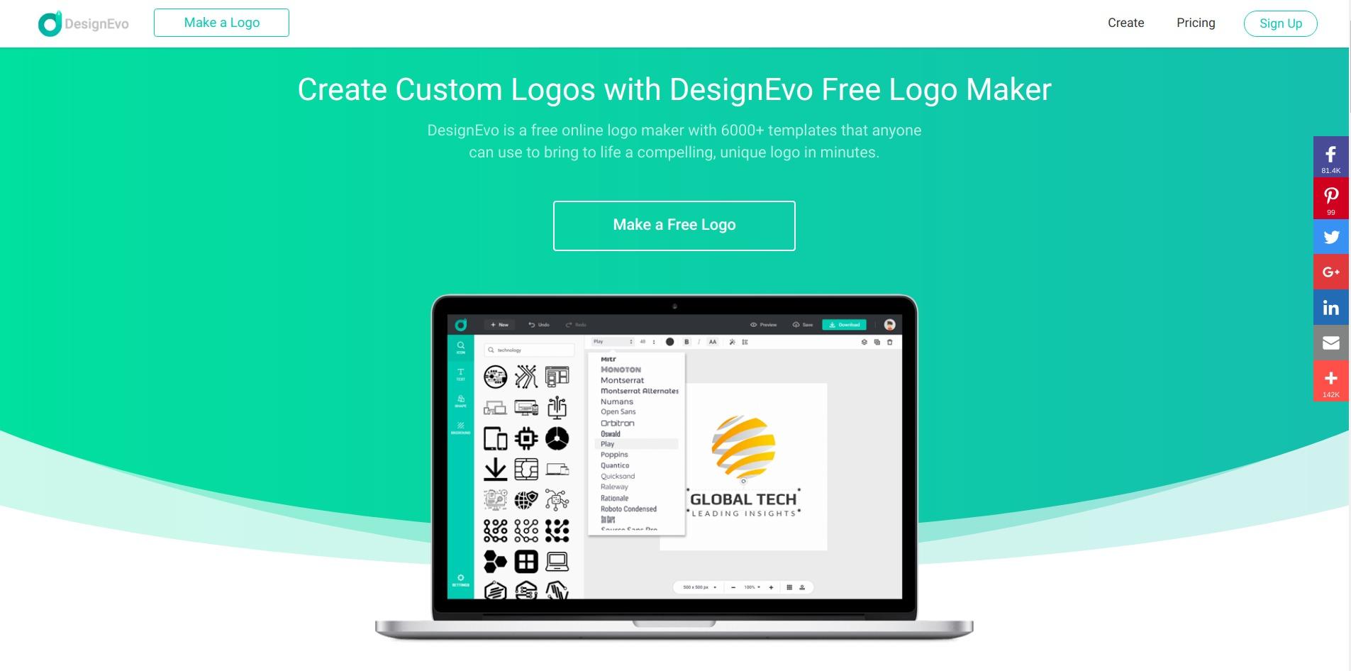Free Logo Maker – DesignEvo